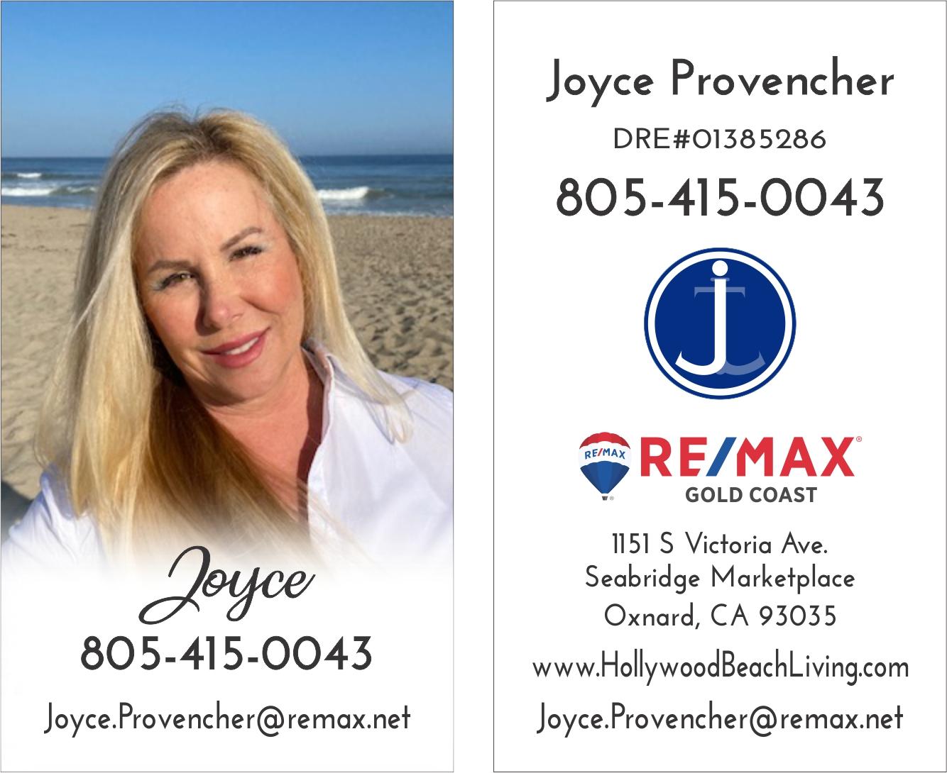 Joyce undefined Provencher